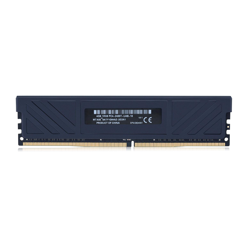 魅光黑战 台式机内存条 DDR4 4G2400