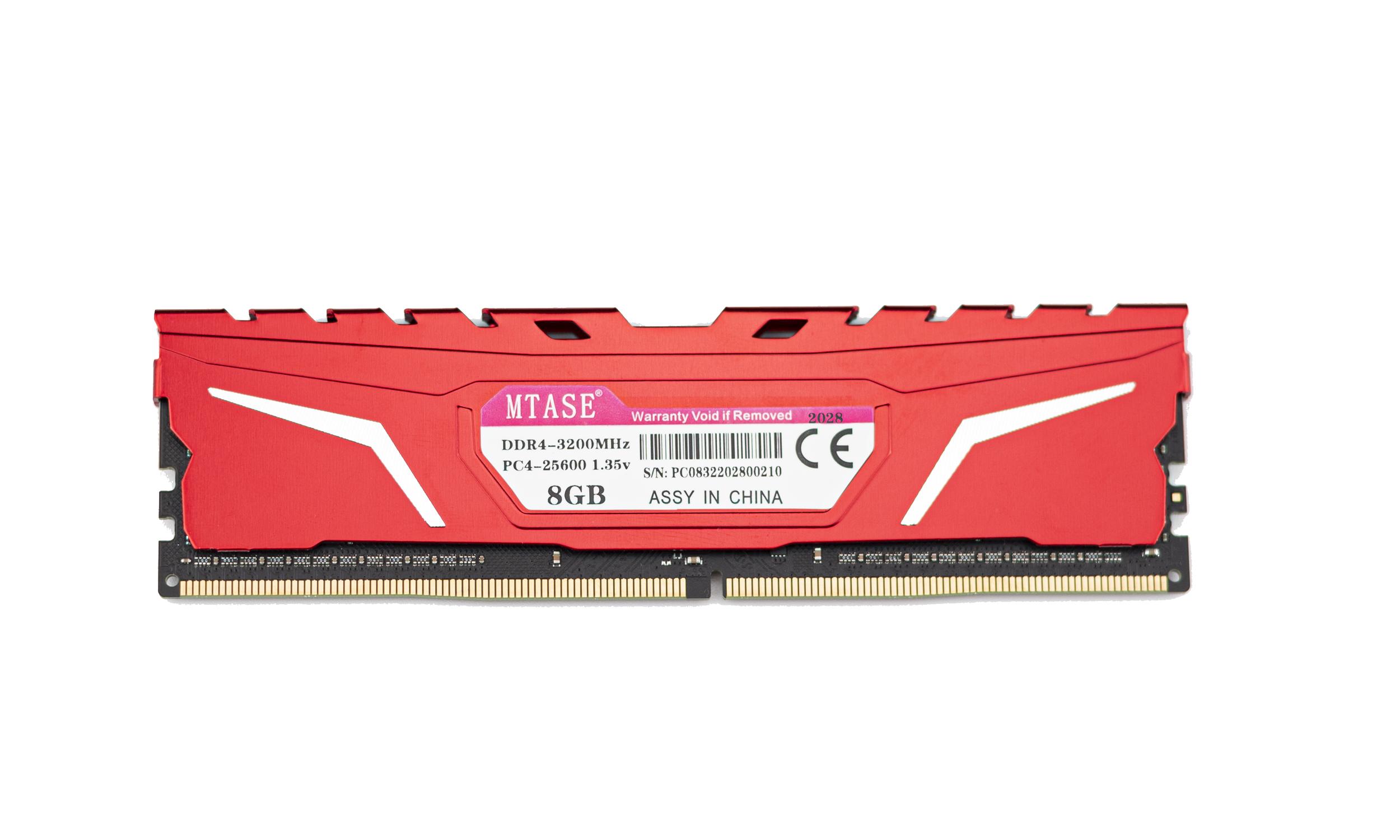 魅光黑战 台式机内存条 DDR4 8G3000
